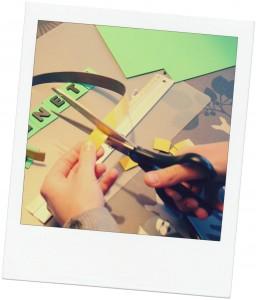 DIY-magnetbogstaver-ramme